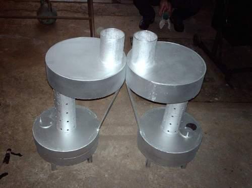 Печь для гаража на отработанном масле своими руками